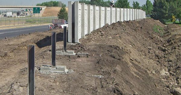 Concrete Fence Mold Aftec Fence Forming Systems Hormigon Prefabricado Ideas Para Cercas Muros