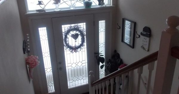 Split Entry Foyer Lighting : Split level entryway house pinterest