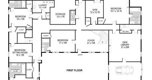 Luxury House Plans One Story Homes On Ranch House Plans Best Ever