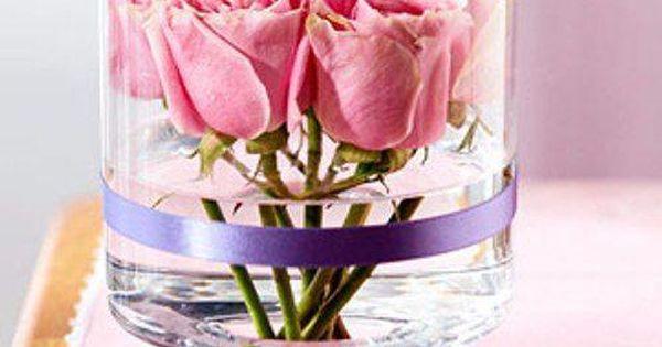 10 arreglos florales hermosos para decorar tu boda tu - Floreros modernos ...