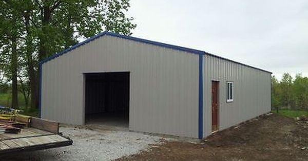 30x48 Steel Metal Building Farm Commercial Many Sizes Nationwide Metal Buildings Steel Buildings Metal Storage Buildings