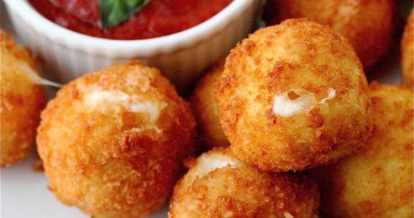 Fried Mozzarella Balls — Moms Need To Know ™