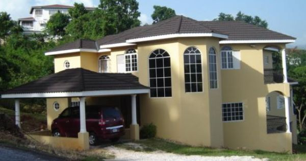 Jamaican House Designs Design And Planning Of Houses Jamaica House House Design House