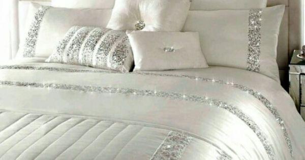 Beautiful White Sparkle Bedding Www Ofdesign Net
