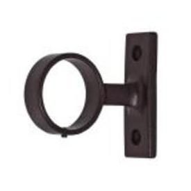 Loop Bracket 1 1 2 Inch Projection Bracket For 1 1 2 Diameter Curtain Pole Rustic Curtain Rods Curtain Rods Rustic Curtains