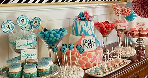 baby reveal party ideas   Gender Reveal Party Baby Shower Ideas -
