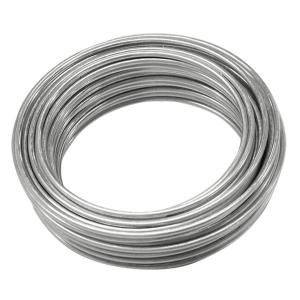 Ook 25 Ft 55 Lb 16 Gauge Galvanized Steel Wire 50130 The Home Depot In 2020 Galvanized Steel Galvanized Wreath Frames