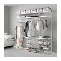 Cabina Armadio Algot Ikea.Us Furniture And Home Furnishings Ikea Closet Best Closet