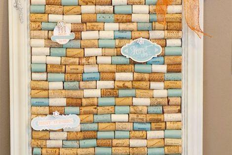 pinnwand aus korken selbst basteln eigene 4 w nde pinterest basteln und deko. Black Bedroom Furniture Sets. Home Design Ideas