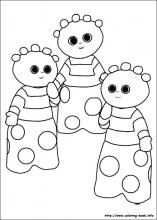 In The Night Garden Coloring Pages On Coloring Book Info Garden Coloring Pages Owls Drawing Paw Patrol Coloring