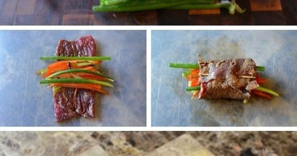 Steak rolls, Steaks and Pan seared steak on Pinterest