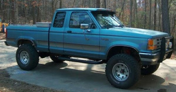 Ford 92 Lifted Ford Ranger Camion Ford Guarda Bosque
