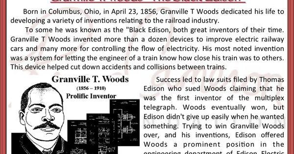 RCF's Black History Fact #4: Thomas Edison sued Black ...