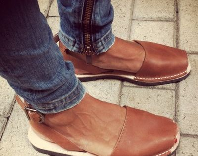 menorquinas Pons with buckle strap in Brown, hand-crafted | See more about Brown, Sandals and Brown Fashion.