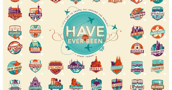 Travel bucket list!