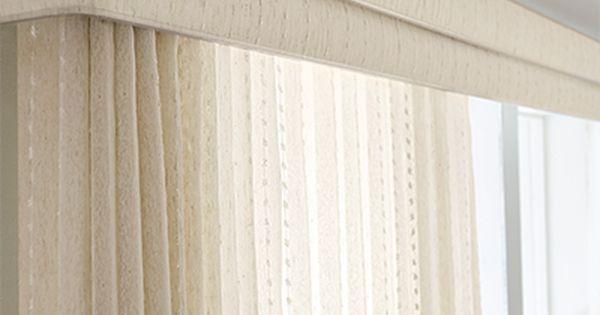 Sheer Vertical Blind Cascade Champagne 2080 Double