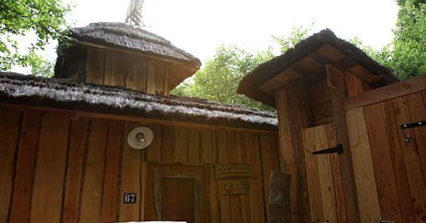 Cabane De Neo 5 Pers 2 Adt 3 Enf Parc De Sainte Croix Cabane Dans Les Arbres Cabane Hebergement Insolite