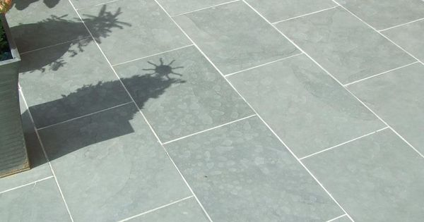 Grey Blue Brazilian Slate Paving Patio Garden Slabs Tiles