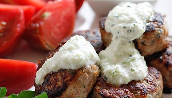 Love Greek food... this is a must try! Greek Turkey meatballs