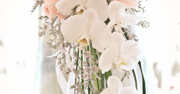 cascading bouquet ... Wedding ideas for brides & bridesmaids, grooms & groomsmen,