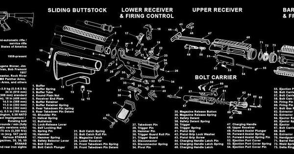 Ar 15 M16 M4 Armorers Gun Cleaning Bench Mat Full Parts