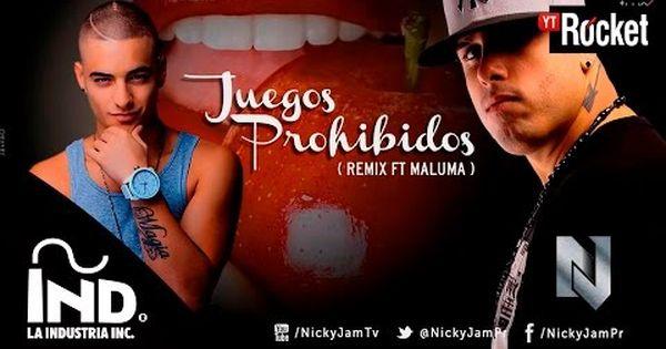 Nicky Jam Juegos Prohibidos Remix Ft Maluma Oficial Con Letra Nickyjampr Malumacolombia Youtube Album Mira Incoming Call Screenshot