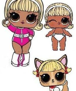 Drag Racer Lol Dolls Cute Art Lol