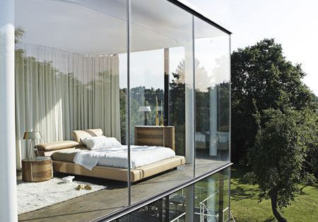 Enhance the Bedroom Designs with Glass Wall Ideas | Best Bedroom Interior