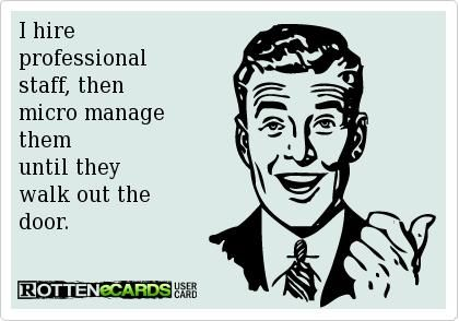Tip From A Bad Boss Micromanagement Career Cartoons Jokes And Unfortunate Truths