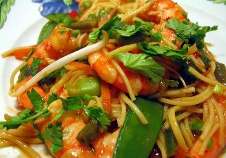 wok de crevettes et l gumes recettes crustaces pinterest wok journ e des femmes et journ e de. Black Bedroom Furniture Sets. Home Design Ideas