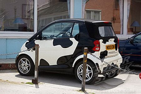 Smart Car Creative Display Smart Auto Smart Fortwo Coole Autos