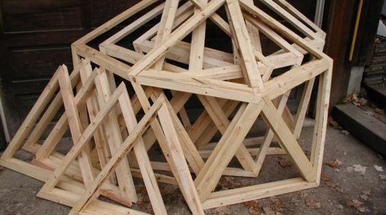 biodome frames backyards pinterest geod tische kuppel und gartenh user. Black Bedroom Furniture Sets. Home Design Ideas