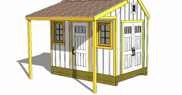 8x12 cape cod new england shed plan house ideas pinterest for New england shed plans