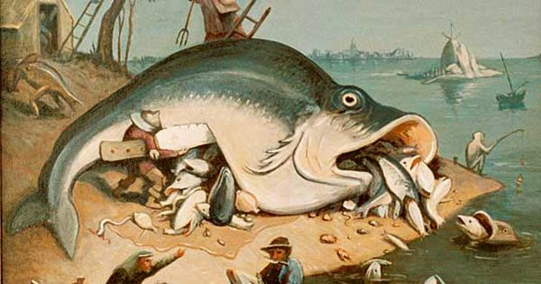 Big Fish by Laurence Smith - after Pieter Bruegel ...