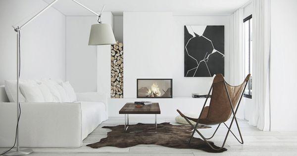 Zwart en wit in het interieur interieur design by nicole fleur huis idee n pinterest - Deco interieur wit ...