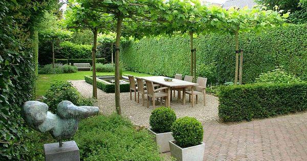 Maken tuinontwerp voor een gedeelte van achtertuin van circa 15x7 meter in een jaren 20 30 - Luifel ontwerp voor patio ...