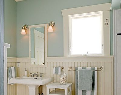 Icy Blue Again This Time In A Bathroom Home Design