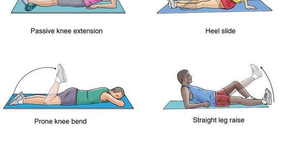 Sprained knee rehab part 1 | Exercise | Pinterest ...