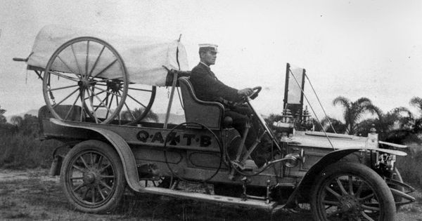 Statelibqld 2 199839 Queensland Ambulance Transport Brigade Officer At Southport 1912 Category 1912 In Queensland Wikimedia Commons