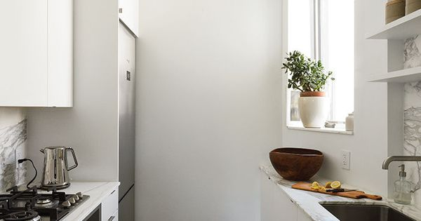 Modern brooklyn apartment kitchen with ikea cabinets and for Kitchen cabinets 65th street brooklyn