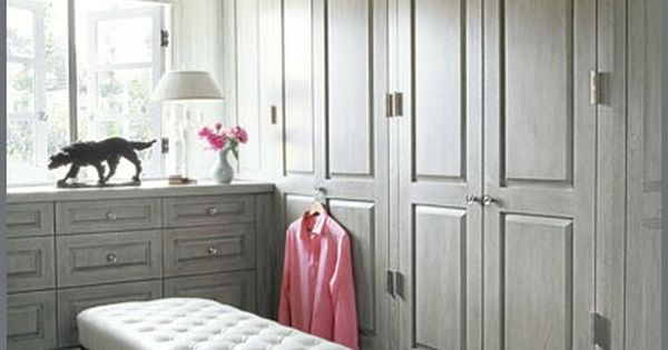 grey dream closet & bench
