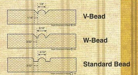 V Grooved Sheet In Raw Mdf Flexible Molding Trim Carpentry Tongue Groove