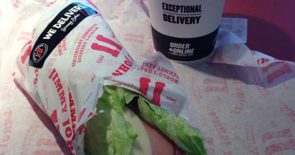 Italian Unwich Sub at Jimmy Johns. 0 carbs | Low carb options at Restaurants | Pinterest | Jimmy ...
