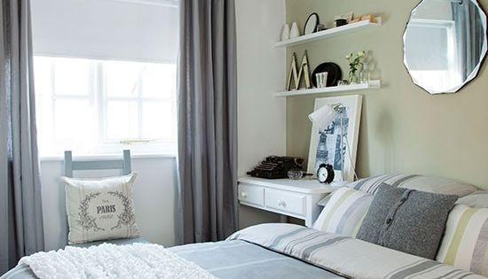 Soft gr n und grau schlafzimmer wohnideen living ideas schlafzimmer pinterest gr n und - Wohnideen wohn und schlafzimmer ...