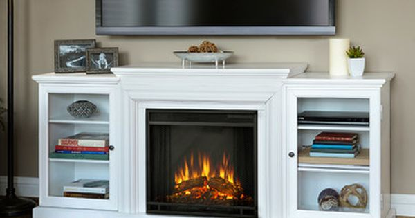 Real Flame Fresno Tv Stand With Electric Fireplace Reviews Wayfair Design Pinterest