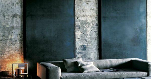 Revêtement mural en bois, pierre et béton – 55 idées à piquer ...