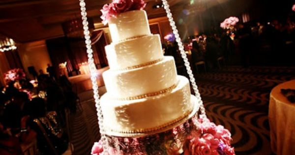 Hanging Wedding Cake Displays via blogspot.com