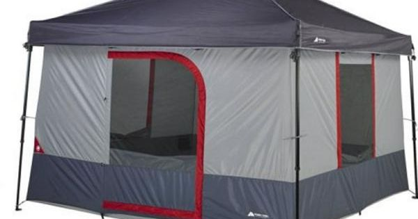 Set Up This Straight Wall Cabin Tent And Convert Your 10