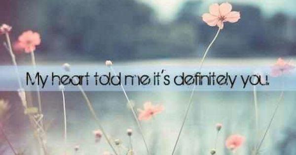 definitely.   Beautiful words.   Pinterest