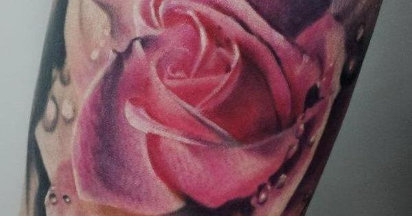 Matt Jordan. Blue Lotus Tattoo. This is body art.
